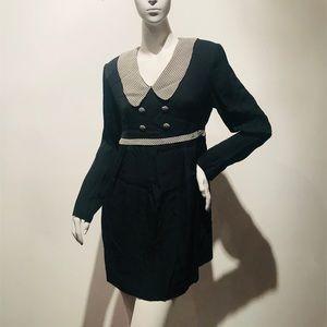 Vintage 90s Bombass Babydoll Maternity Dress Sz L